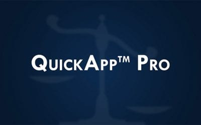 Introducing the QuickApp™ Pro for Background Checks