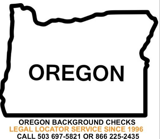 Oregon Background Checks