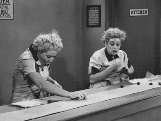 Picture of Lucille Ball of I love Lucy