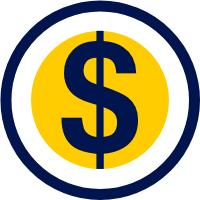 Dollar sign icon